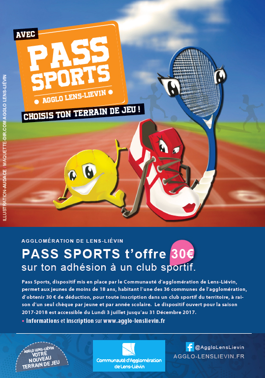 Pass sports a5 visuel pub